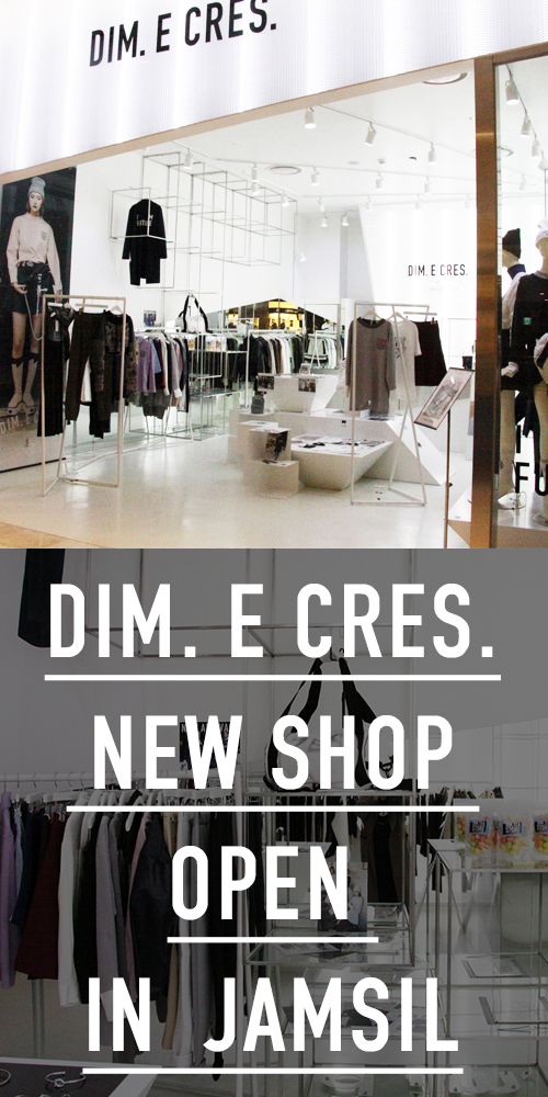 DIM. E CRES. NEW SHOP OPEN IN LOTTE SHOPPING MALL JAMSIL